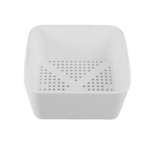 Commercial - 6 1/2 in Square Floor Drain Strainer Basket