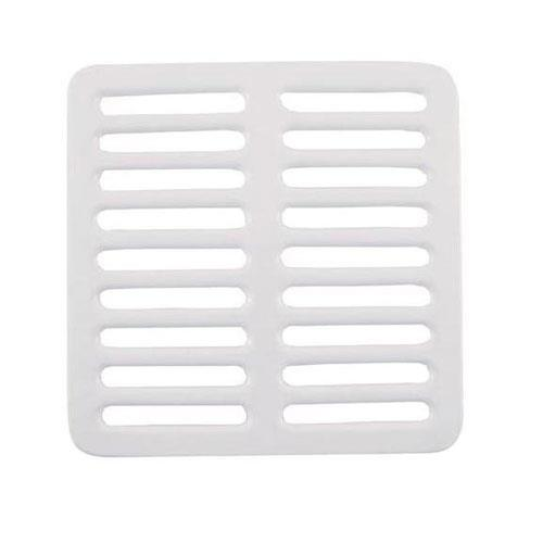 "Commercial - 9 1/4"" Porcelain Full Floor Sink Top Grate"