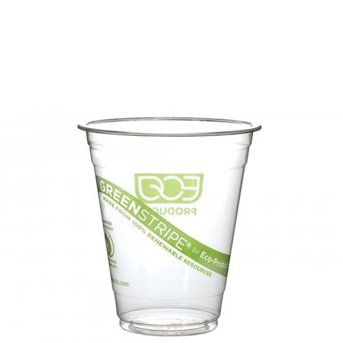 Eco-Products - EP-CC12-GS - 12 oz GreenStripe® Cold Corn Cups
