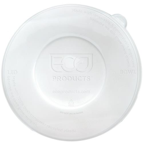 Eco-Products - EP-BLRLID - 24-40 oz WorldView™ 100 Percent Recycled Content Sugarcane Bowl Lids