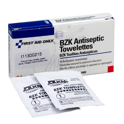First Aid Only - 12-018 - Antiseptic Wipes