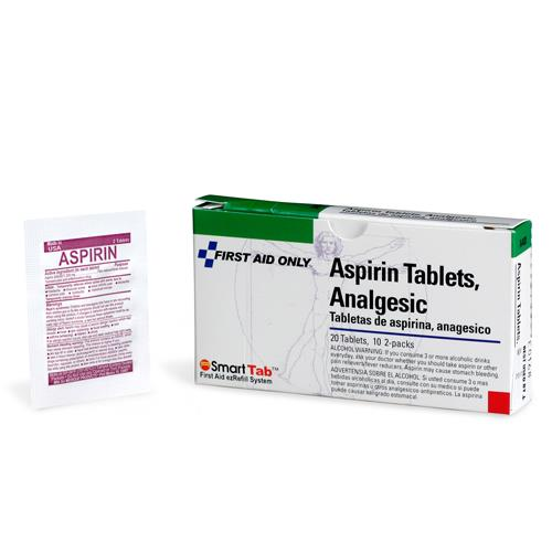First Aid Only - 20-112 - Asprin Tablets