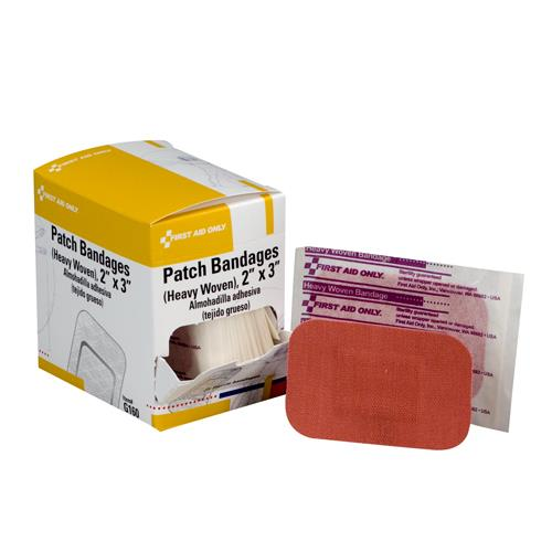 First Aid Only - G160 - 2 in x 3 in Adhesive Bandages