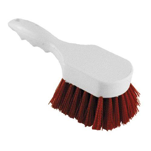 Carlisle - 4054105 - 8 in Red Sparta® Utility Scrub Brush