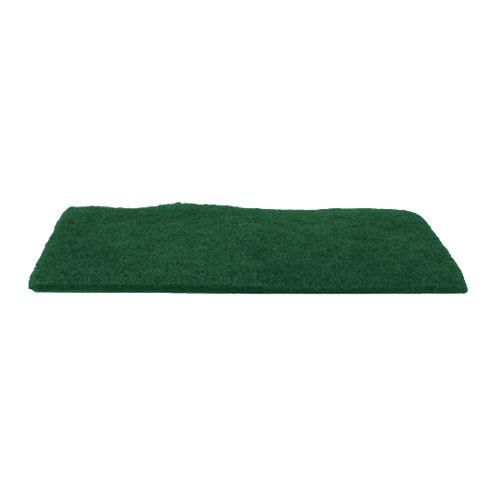 Winco - SP-96N - 6 in x 9 in Green Scour Pad