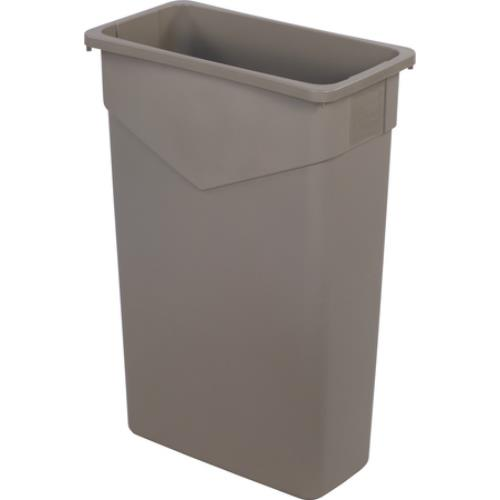 Carlisle - 34202306 - 23 gal Beige TrimLine™ Rectangular Trash Can