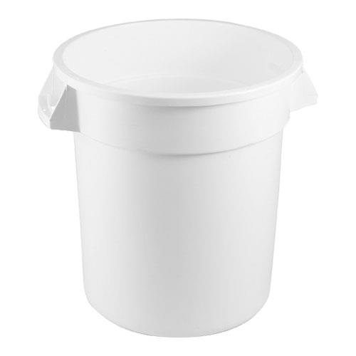 rubbermaid fg261000wht 10 gal white brute trash can - Brute Trash Can