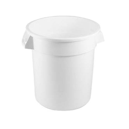 Rubbermaid - FG262000WHT - White 20 Gallon Round Trash Can