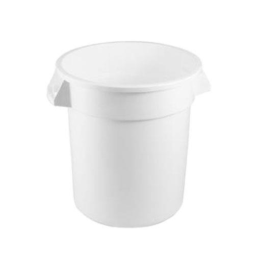 Rubbermaid - FG263200WHT - White 32 Gallon Round Trash Can