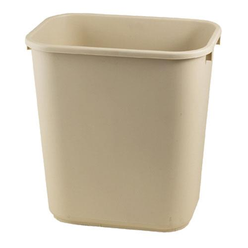 Rubbermaid - FG295600BEIG - 7 gal Beige Wastebasket