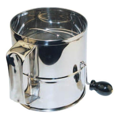 Winco - RFS-8 - 8 Cup Rotary Sifter