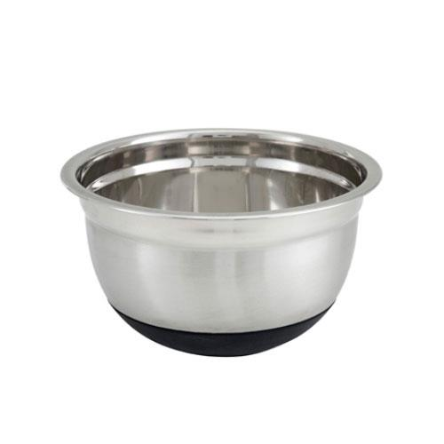 Winco - MXRU-150 - 1 1/2 qt Mixing Bowl With Silicone Base