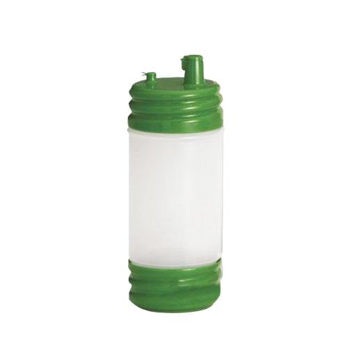 Tablecraft N32LPGN 32 oz PourMaster Green Low Profile Drink Mix Pourer for Restaurant Chef