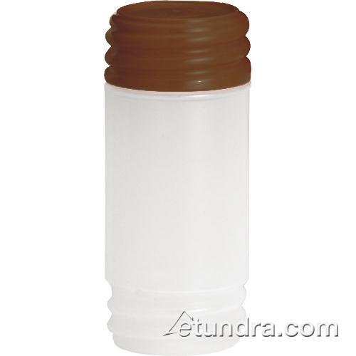 Tablecraft N32SMBR 32 oz PourMaster Brown Container with StorMaster Cap for Restaurant Chef