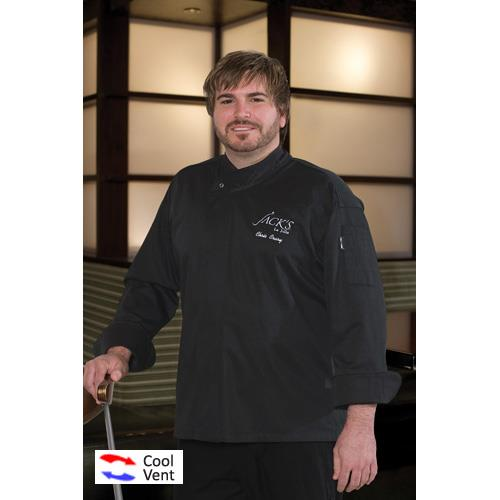 Review Cool Vent New Yorker Chef Coat (M) Before Too Late