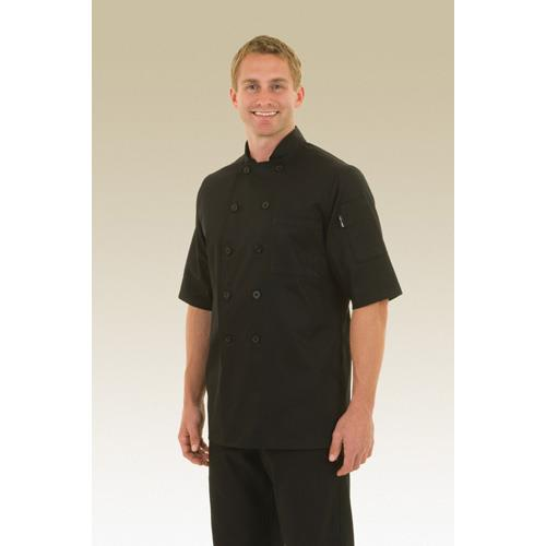 Chef Works BLSS-L Chambery Chef Coat (L) for Restaurant Chef