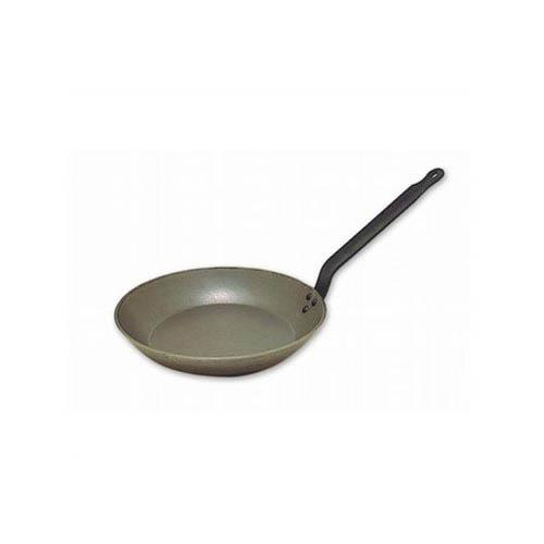 Matfer Bourgeat 062007 14 in Black Steel Fry Pan for Restaurant Chef