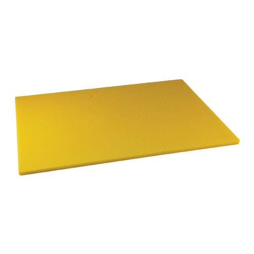 Winco - CBYL-1824 - 18 in x 24 in x 1/2 in Yellow Cutting Board
