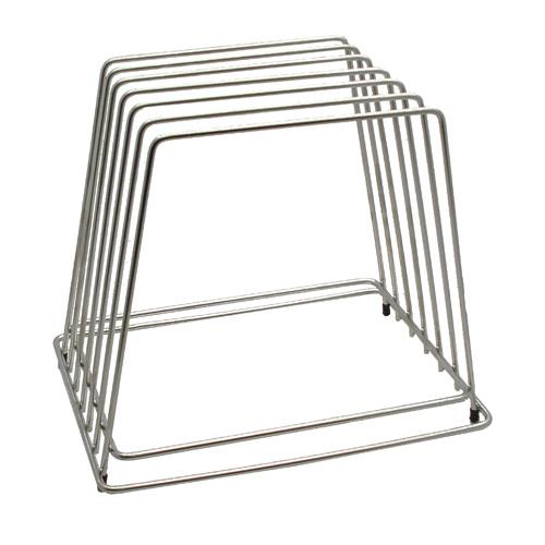 Tablecraft - CBR6 - Stainless Steel Cutting Board Rack
