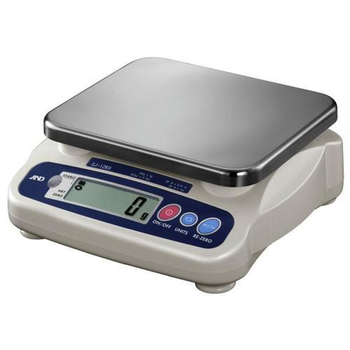 A&D Weighing - SJ-12KHS - 26 lb x 0.01 lb Digital Portion Scale