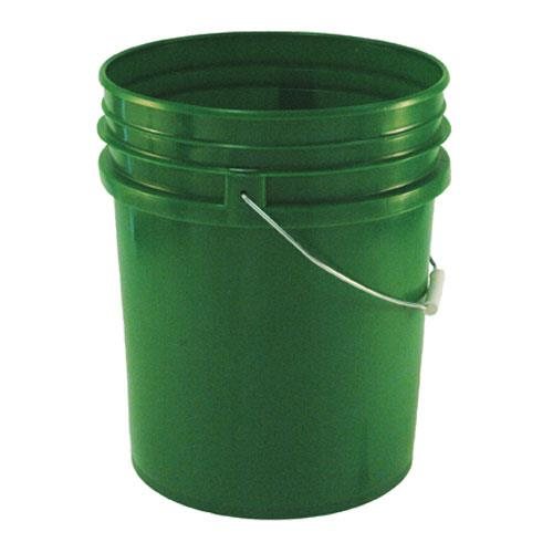 Commercial - 5 gal Green FDA Food Storage Pail