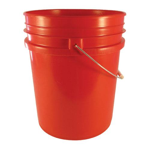 Commercial - 5 gal Red FDA Food Storage Pail