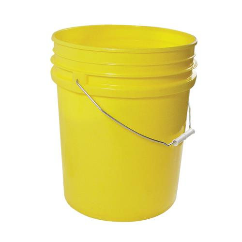Commercial - 5 gal Yellow FDA Food Storage Pail