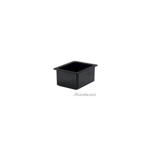 Cambro - 26CF110 - 1/2 Size 6 in Black Deep ColdFest® Cold Pan