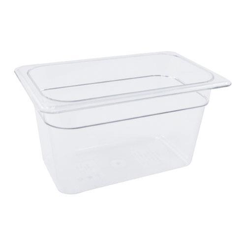 Cambro 46CW Camwear Fourth Size 6 in Deep Food Pan for Restaurant Chef