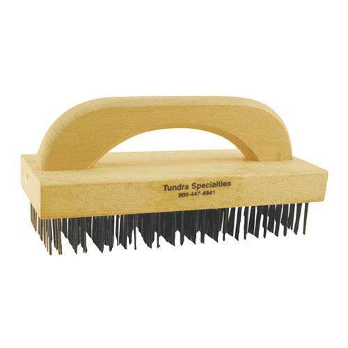 Commercial - 9 in Course Bristle Broiler Brush