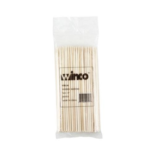 Winco - WSK-06 - 6 in Bamboo Skewer