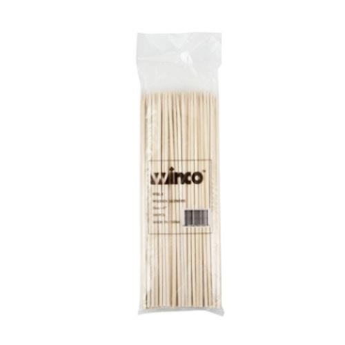 Winco - WSK-08 - 8 in Bamboo Skewer