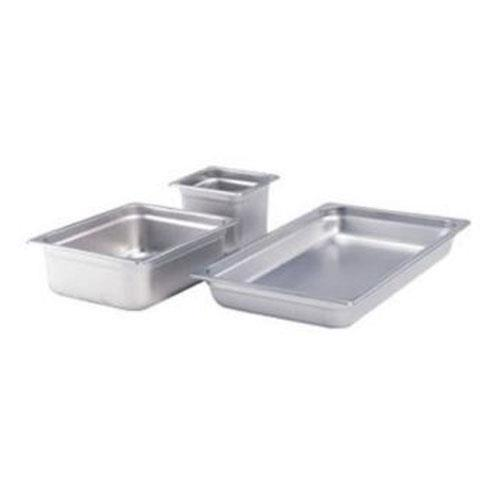 Crestware 2162 Stainless Steel 2 1/2 in Food Pan for Restaurant Chef