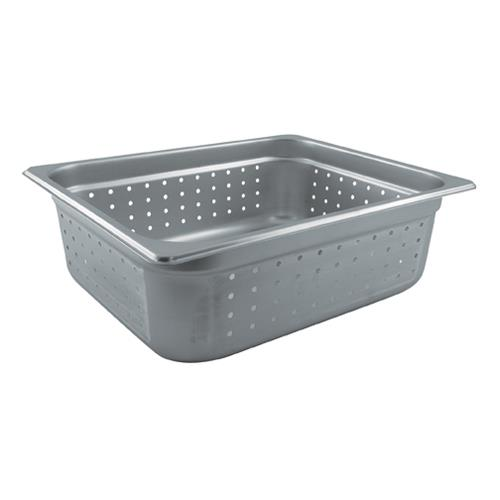 Update International NJP-506PF Half Size 6 in (Depth) Perforated Steam Table Pan for Restaurant Chef