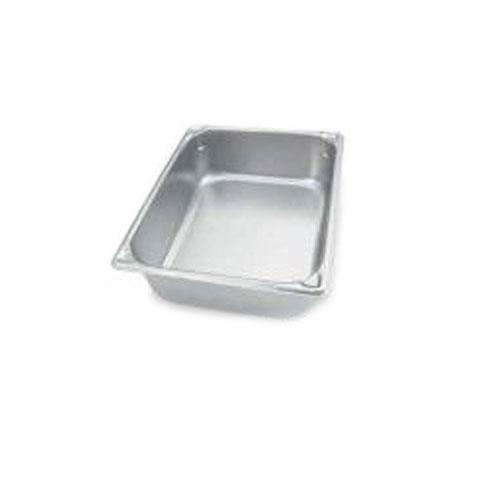 Vollrath 30262 Half Size 6 in Deep Steam Table Pan for Restaurant Chef