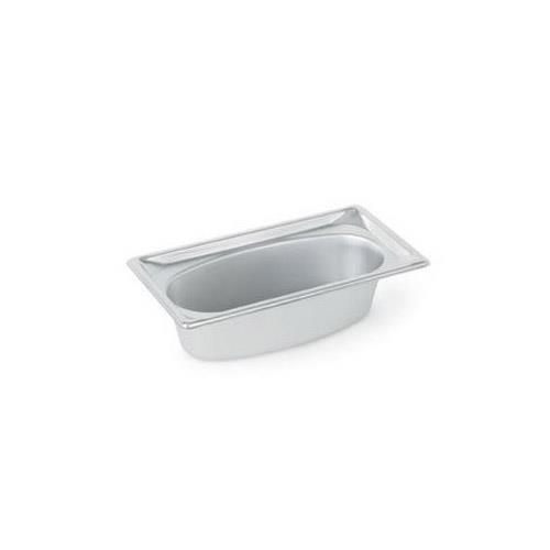 Vollrath - 3103040 - 1/3 Size 2.2 Qt Oval Steam Table Pan