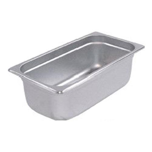 Winco - SPJP-304 - Third Size 4 in Deep Steam Table Pan