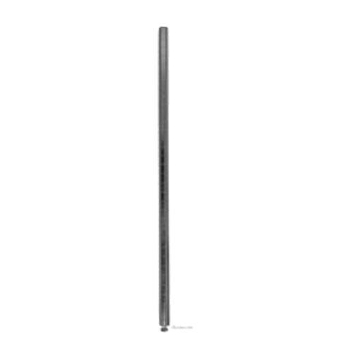 Focus Foodservice - FG074C - 74 in Chrome Plated Shelf Post