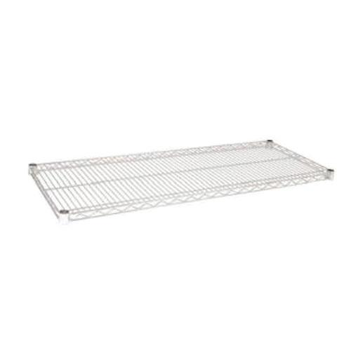 Focus Foodservice - FF1436C - 14 in x 36 in Chrome Plated Wire Shelf