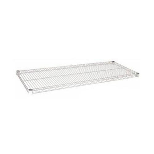 Focus Foodservice - FF1448C - 14 in x 48 in Chrome Plated Wire Shelf