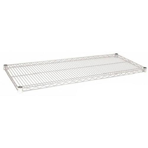 Focus Foodservice - FF1460C - 14 in x 60 in Chrome Plated Wire Shelf