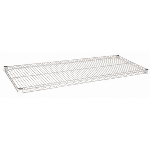 Focus Foodservice - FF1848C - 18 in x 48 in Chrome Plated Wire Shelf