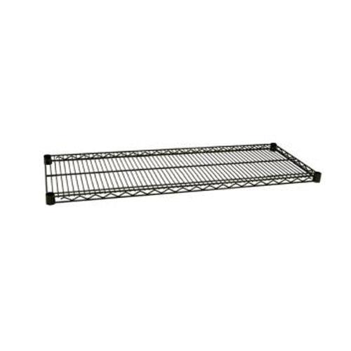 Focus Foodservice - FF1860G - 18 in x 60 in Green Epoxy Coated Wire Shelf