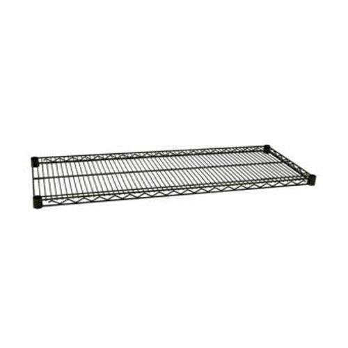 Focus Foodservice - FF1872G - 18 in x 72 in Green Epoxy Coated Wire Shelf