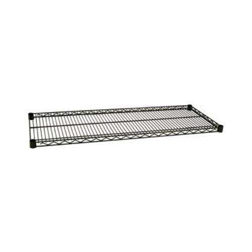Focus Foodservice FF2436G 24 in x 36 in Green Epoxy Coated Wire Shelf for Restaurant Chef