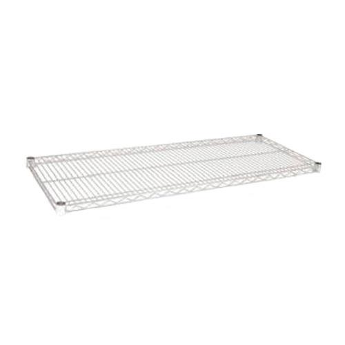 Focus Foodservice FF2448C 24 in x 48 in Chrome Plated Wire Shelf for Restaurant Chef