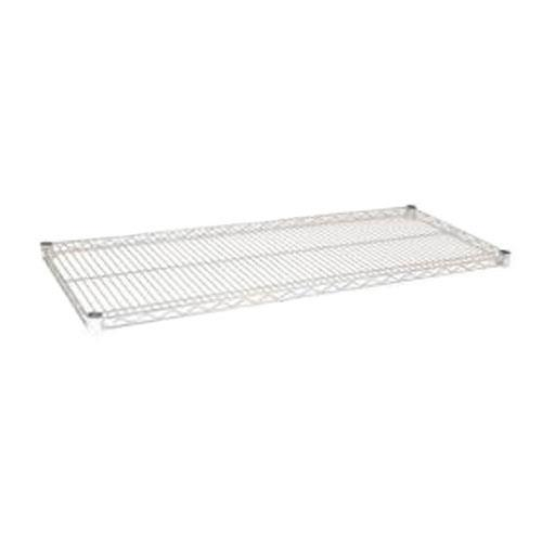 Focus Foodservice FF2454C 24 in x 54 in Chrome Plated Wire Shelf for Restaurant Chef