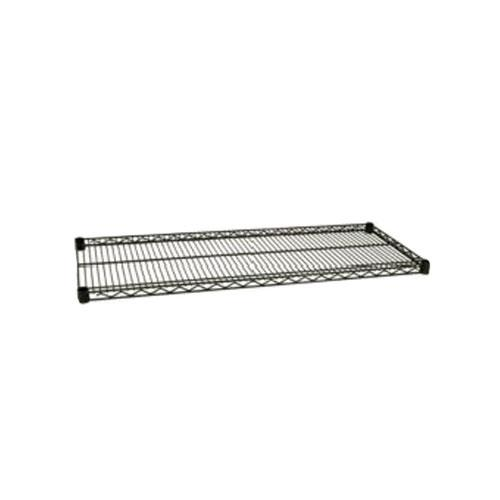 Focus Foodservice FF2472G 24 in x 72 in Green Epoxy Coated Wire Shelf for Restaurant Chef