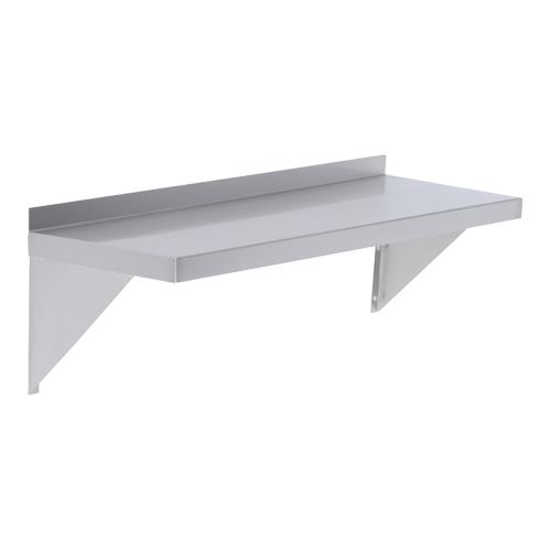 12 x 72 in Economy Wall Shelf