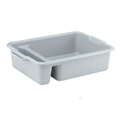 Vollrath - 52632 - 23 in x 17 1/4 in Gray Divided Bus Box